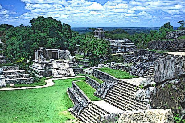Mayan Buildings
