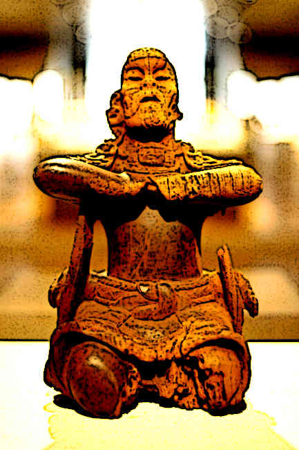 Mayan Wood Carvings