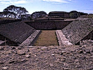Mayan Ball Game Court