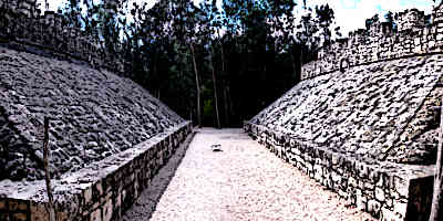 Mayan Ball Games Coba Ballcourt