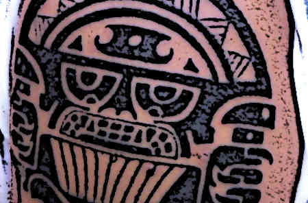 Mayan God of Tattoos
