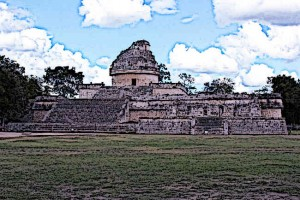 The-El-Caracol-Observatory-Temple.