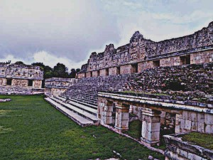 Mayans-Ruins-Uxmal-Nunnery-Quadrangle