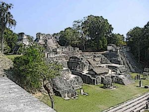North Acropolis Tikal City Ruins
