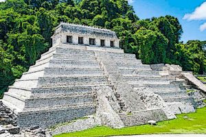 Temple of Inscriptions Palenque temple